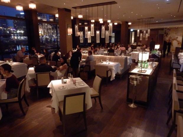THE DINING ROOM RESTAURANT AT NIGHT