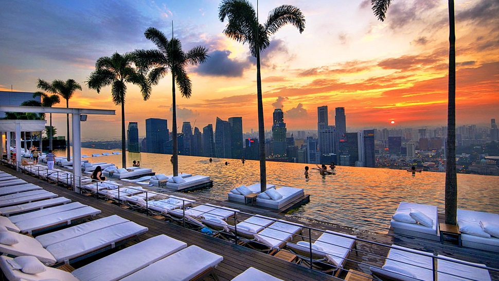 Top 10 most beautiful hotel pools in the world the for Beautiful hotels
