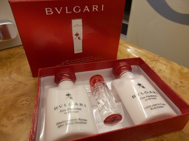 AMENITY KIT: BVLGARI TOILETRIES