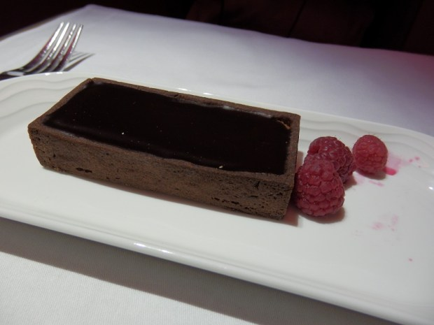 DESSERT: CHOCOLATE SOUFFLE TART
