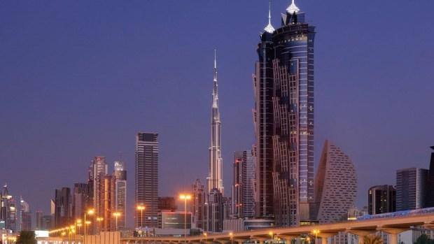 MARRIOTT MARQUIS DUBAI, UAE
