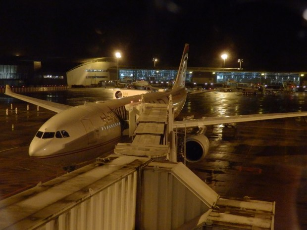 AIRBUS A330 BRUSSELS TO ABU DHABI: READY FOR BOARDING