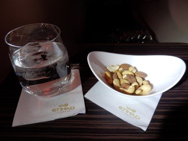 BRUSSELS TO ABU DHABI: SOFT DRINK WITH WARM NUTS