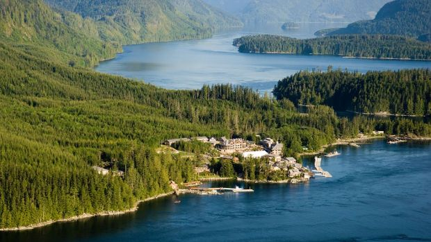 SONORA RESORT, DESOLATION SOUND, BRITISH COLUMBIA