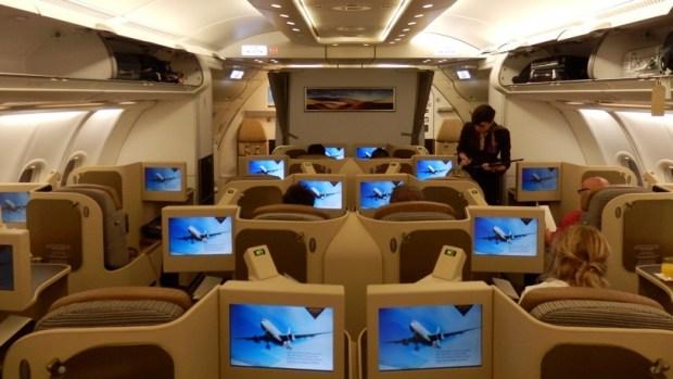ETIHAD AIRWAYS A330 BUSINESS CLASS
