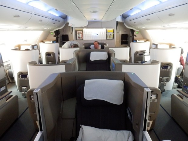 BUSINESS CLASS CABIN ON UPPER DECK