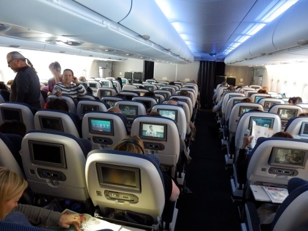 ECONOMY CLASS ON THE LOWER DECK
