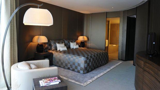ARMANI HOTEL DUBAI, UAE, OWNED BY GEORGIO ARMANI