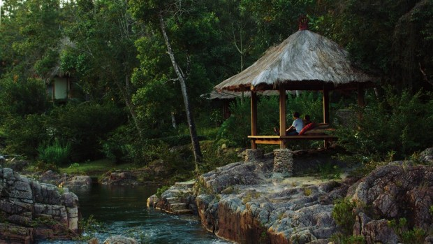 BLANCANEAUX LODGE, BELIZE, OWNED BY FRANCIS FORD COPPOLA
