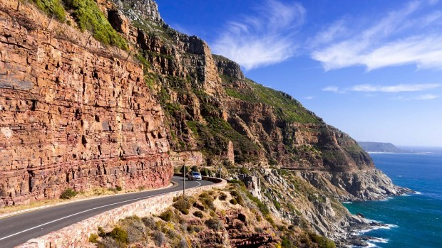 DRIVE THE MARINE ROAD AROUND CHAPMAN'S PEAK