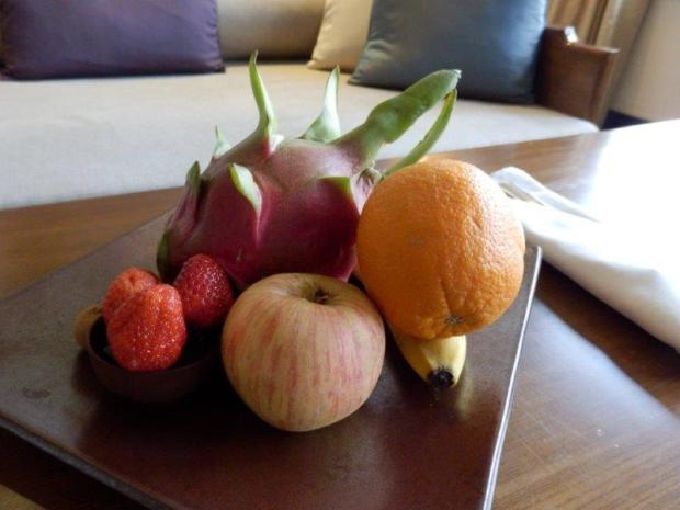 COURTYARD SUITE: WELCOME SNACKS