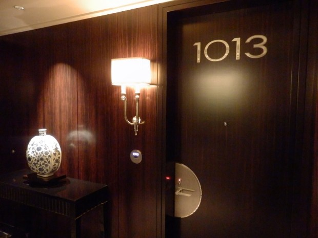 ENTRANCE TO DELUXE RIVER ROOM N° 1013