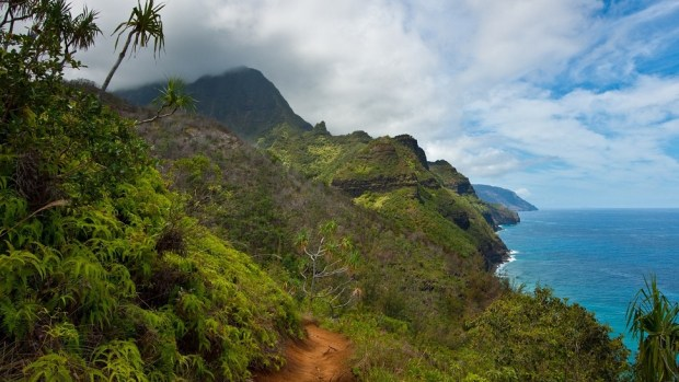 KALALAU TRAIL, HAWAII, USA