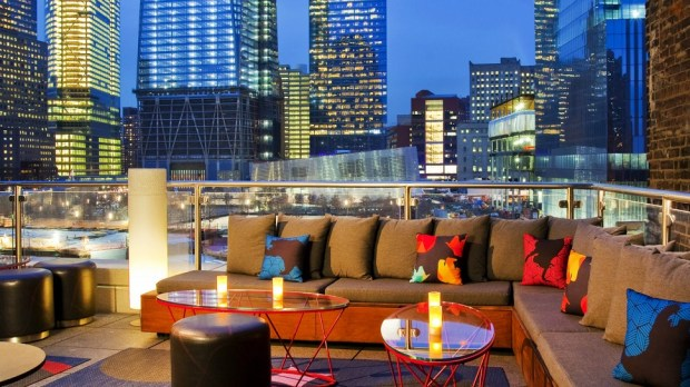 THE LIVING ROOM BAR & TERRACE (W NEW YORK DOWNTOWN)