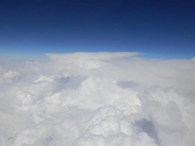 CUMULONIMBUS CLOUDS OVER CHINA