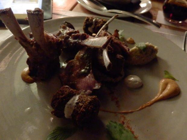 DINNER AT SPAGO RESTAURANT