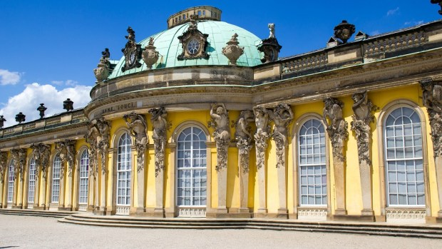 SCHLOSS SANSSOUCI, POTSDAM, GERMANY