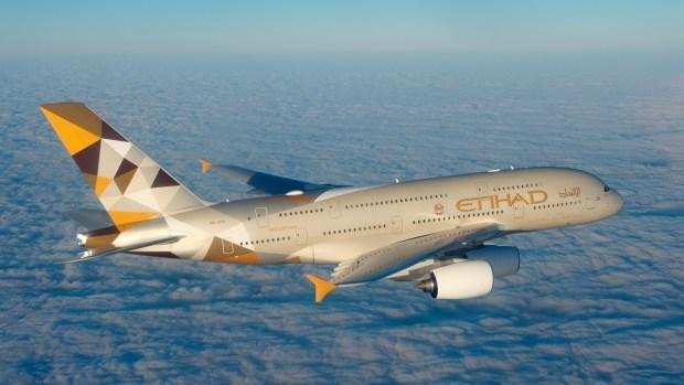 ETIHAD AIRWAYS A380