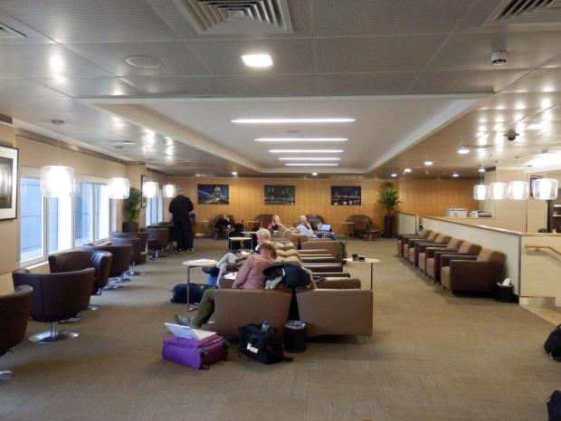 AA'S LHR FLAGSHIP LOUNGE