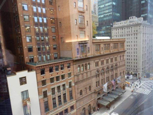PARK KING DELUXE ROOM: VIEW ON CARNEGY HALL