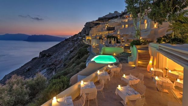 MYSTIQUE SANTORINI, A STARWOOD LUXURY COLLECTION HOTEL, WILL SOON BE PART OF MARRIOTT'S PORTFOLIO