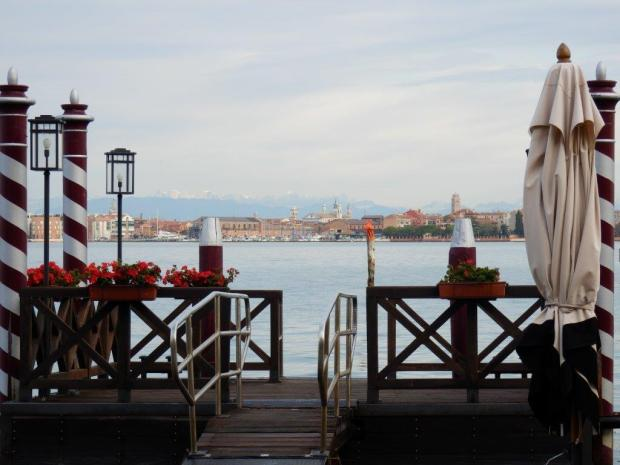 VIEW ON VENICE'S SKYLINE FROM THE HOTEL