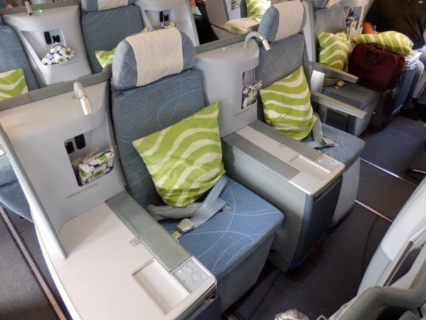 BUSINESS CLASS MIDDLE SEATS