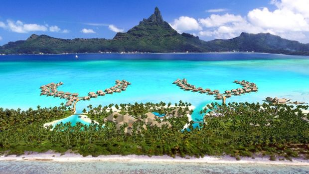 INTERCONTINENTAL BORA BORA RESORT, FRENCH POLYNESIA
