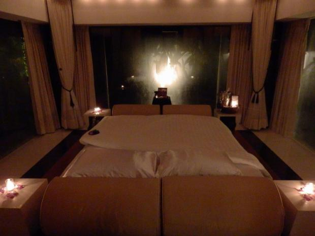 SPA SANCTUARY VILLA: TURNDOWN SERVICE