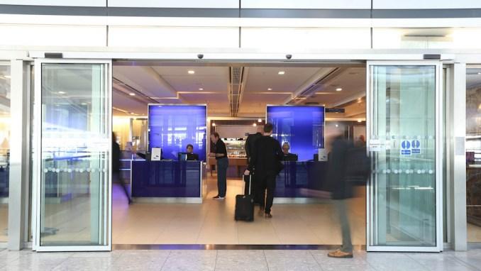 BRITISH AIRWAYS GALLERIES LOUNGE, LONDON