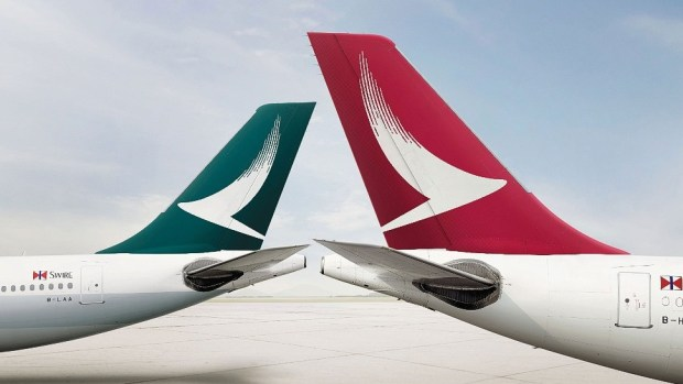 CATHAY PAFICIC AND CATHAY DRAGON LOGOS