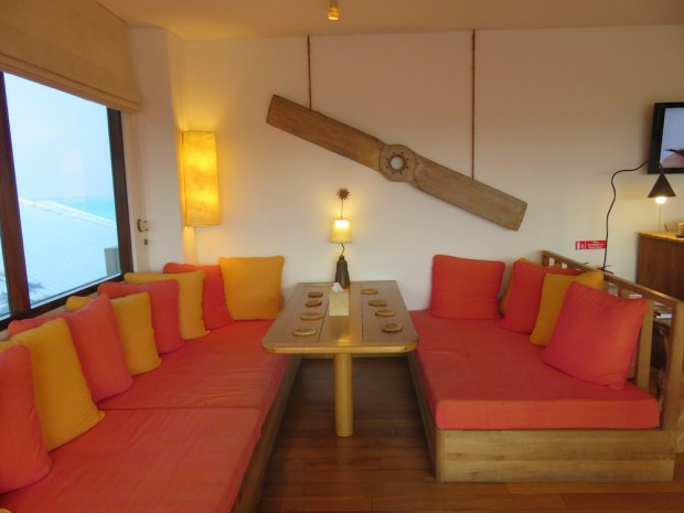 SONEVA FUSHI LOUNGE AT MALE AIRPORT