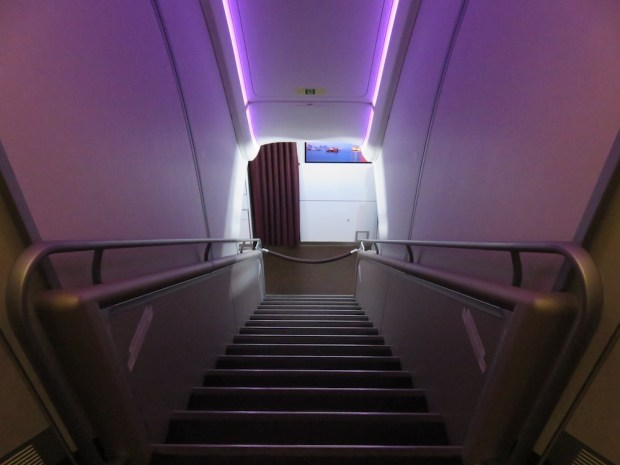 STAIRS TO THE UPPER DECK