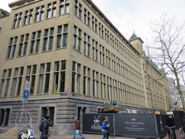 HOTEL EXTERIOR: BANK BUILDING