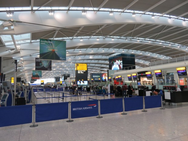BRITISH AIRWAYS TERMINAL 5