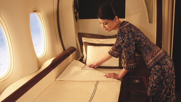 NEW YORK TO/FROM FRANKFURT ON SINGAPORE AIRLINES