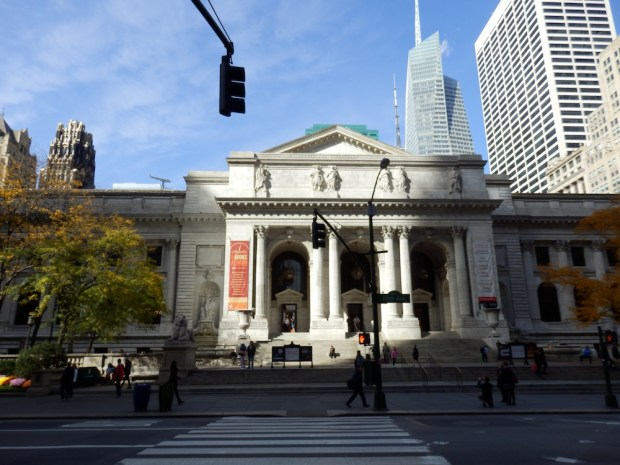 THE HOTEL IS LOCATED ACROSS THE STREET FROM THE NYC PUBLIC LIBRARY