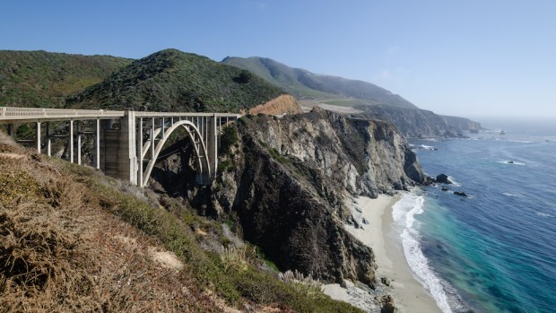 BIXBY CREEK BRIDGE, BIG SUR, CALIFORNIA, USA