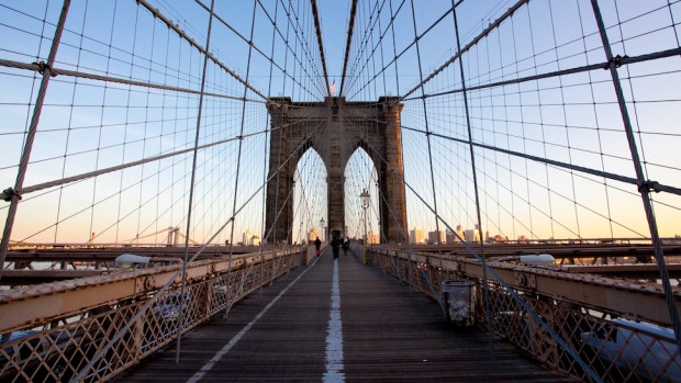 BROOKLYN BRIDGE, NEW YORK, USA