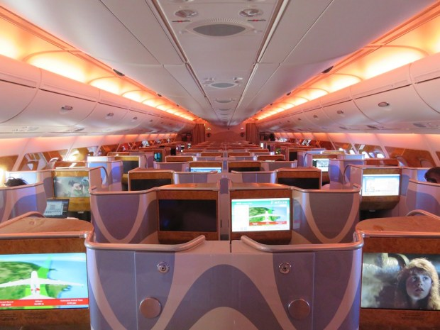 BUSINESS CLASS (UPPER CABIN)