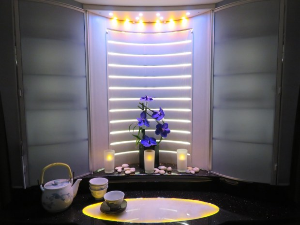 FIRST CLASS WALK-UP BAR TRANSFORMED INTO A MINI-SPA