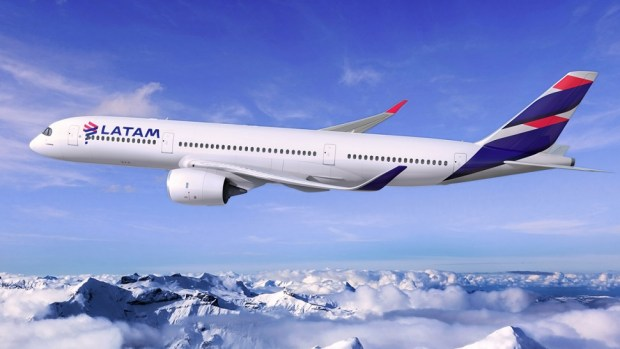 LATAM'S NEW AIRCRAFT LIVERY