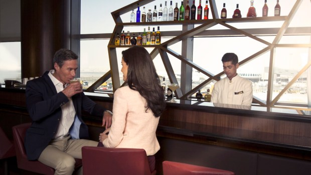 ETIHAD AIRWAYS FIRST CLASS LOUNGE AT ABU DHABI AIRPORT