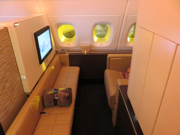 ETIHAD AIRWAYS - FIRST CLASS SUITE