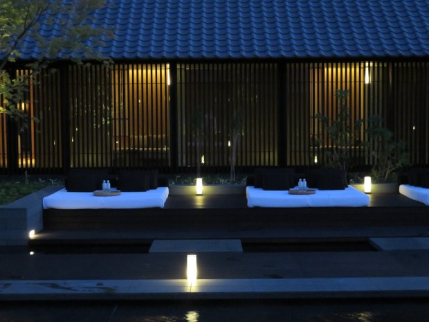 AMAN SPA: ONSEN AT SUNSET