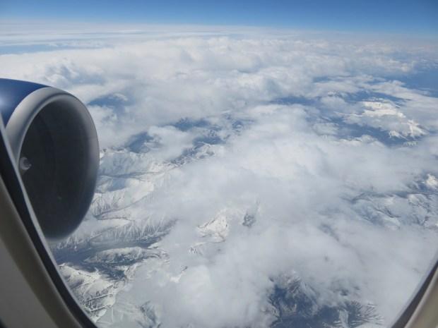 FLIGHT PATH: SCENERY ABOVE SIBERIA