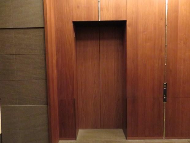 GROUND FLOOR AREA: ELEVATORS