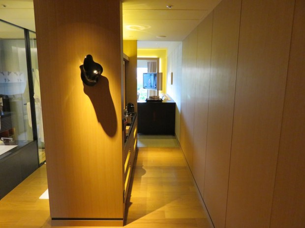 LUXURY ROOM: ENTRANCE