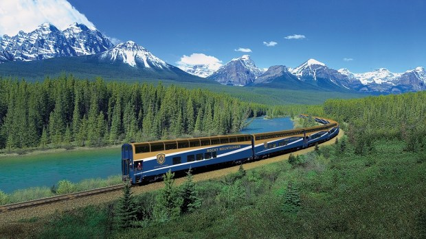 RIDE THE ROCKY MOUNTAINEER