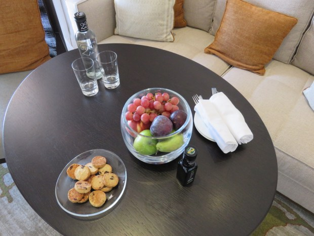 VIEW ROOM - WELCOME SNACKS